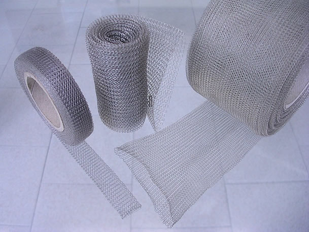 Knitted Wire Mesh Filter Element Can Withstand In Hostile