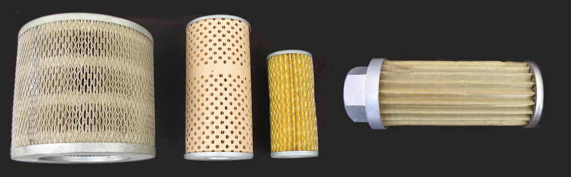 Filter element for oil or liquid filter pleated and for Liquid template filters